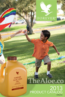 Forever Living Products Brochure/Catalog 2012-2013 English Distributor ID 001-000-535-210 Aubrey Motoyama